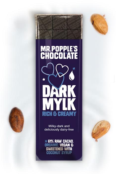 Dark Mylk Vegan Chocolate bar