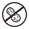 Nut free icon